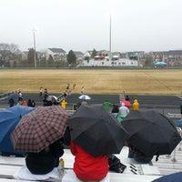Photo taken at Battlefield High School by Dev B. on 3/29/2014