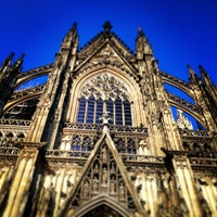 Photo taken at Cologne Cathedral by Thorsten S. on 2/11/2013