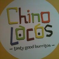 Photo taken at Chino Locos by Jason K. on 11/17/2012