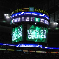 Photo taken at TD Garden by Sugaplum W. on 4/12/2013