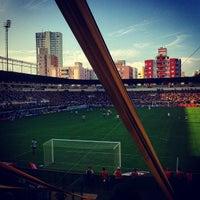 Photo taken at Estádio Heriberto Hülse by Lucas G. on 5/26/2013