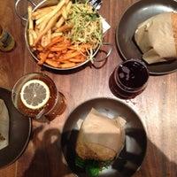 Photo taken at Roam Artisan Burgers by Jennifer O. on 5/9/2013