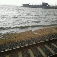 Photo taken at İzban Naldöken İstasyonu by Sina on 11/2/2012