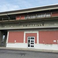 Photo taken at LIRR - Amityville Station by Adam ☆. on 11/11/2013