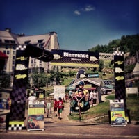 Photo taken at Station Mont Tremblant Resort by Simon d. on 7/14/2013