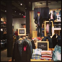 Photo taken at Levi's Store by Caleb L. on 2/18/2013