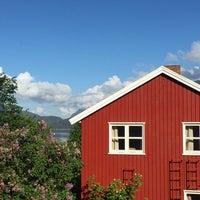 Photo taken at Åndalsnes Vandrerhjeim by Beth K. on 6/20/2015