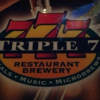 Photo taken at Triple 7 Restaurant & Brewery by 제미 J. on 2/12/2013