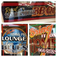 Photo taken at Lucille's Smokehouse Bar-B-Que by Sterling D. on 2/17/2013