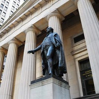 Photo taken at Federal Hall National Memorial by IWalked Audio Tours on 9/4/2011