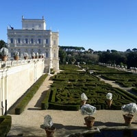 Photo taken at Villa Doria Pamphilj by Nicola G. on 1/7/2012