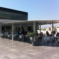 Photo taken at Cafe & Restaurant at Acropolis Museum by andreas on 6/2/2011