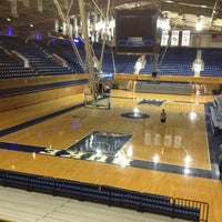 Photo taken at Cameron Indoor Stadium by Jay F. on 3/12/2013