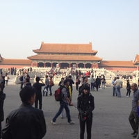 Photo taken at Forbidden City (Palace Museum) by Robert O. on 10/20/2012