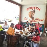 Photo taken at Birrieria San Miguel Cuyutlan by Eduardo F. on 6/26/2016