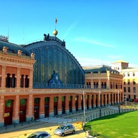 Photo taken at Estación de Madrid-Puerta de Atocha by Daniel N. on 7/23/2013