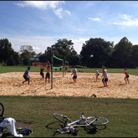 Photo taken at Piedmont Park Active Oval by DB on 10/3/2012