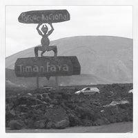Photo taken at Parque Nacional de Timanfaya by Nina S. on 4/9/2013