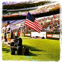 Photo taken at M&T Bank Stadium by John J. on 3/23/2013