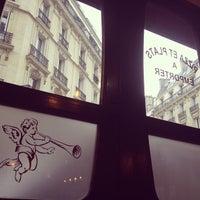 Photo taken at L'ardoise gourmande by Marina K. on 3/12/2013