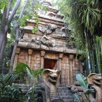 Photo taken at Indiana Jones Adventure by Jennifer O. on 12/11/2012