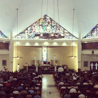 Photo taken at Parroquia Nuestra Señora de Belén by Zelma on 6/1/2013