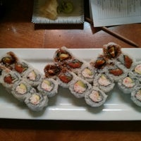 Photo taken at Sushi Train by Brandy S. on 2/16/2013