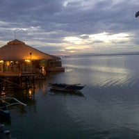 Photo taken at Lantaw Native Floating Restaurant by Joan M. on 11/3/2012