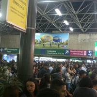 Photo taken at Terminal Rodoviário Tietê by Coelho d. on 10/12/2012