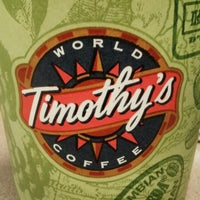 Photo taken at Timothy's World Coffee by siva on 3/14/2013