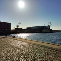 Photo taken at Hafen Wismar by Michael B. on 4/6/2013