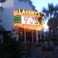 Photo taken at Landry's Seafood House by Johnny S. on 12/9/2012