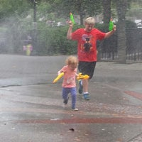 Photo taken at Carroll Park Playground by Susan T. on 7/29/2014