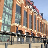 Photo taken at Lucas Oil Stadium by Drew P. on 11/15/2012
