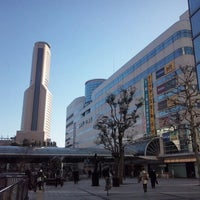 Photo taken at Hamamatsu Station by Shiba y. on 1/14/2013