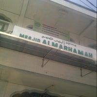 Photo taken at Masjid Al-Marhamah by Adly H. on 12/8/2012