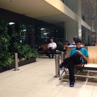 Photo taken at T1 Smoking Room by Chrystian T. on 8/5/2013