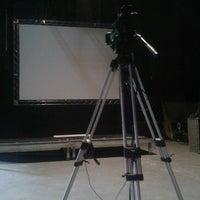 Photo taken at Teatro Mars by Guilherme P. on 10/12/2012