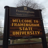 Photo taken at Framingham State University by Charlie P. on 1/12/2014