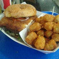 Photo taken at Charm City Burger Company by Rene A. on 11/17/2012