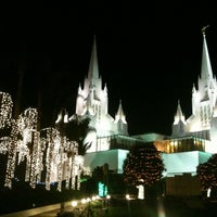 Photo taken at San Diego California Temple by Sanket K. on 12/11/2012