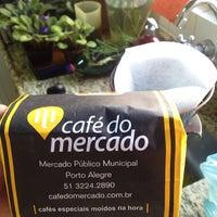 Photo taken at Café do Mercado by Asaph X. on 5/17/2013