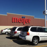 Photo taken at Meijer by Patrick S. on 9/30/2012