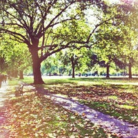 Photo taken at London Fields by Linda S. on 10/6/2012