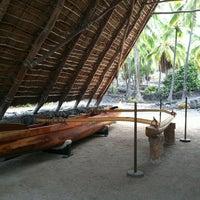 Photo taken at Puʻuhonua o Hōnaunau National Historical Park by Belinda F. on 11/18/2012