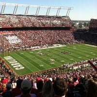 Photo taken at Williams-Brice Stadium by Julianne O. on 11/10/2012