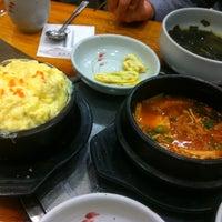 Photo taken at 삼정한식 by Yoojin K. on 10/27/2012
