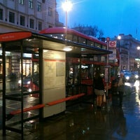 Photo taken at Bus Stop B @ Piccadilly Circus by James Arthur C. on 4/2/2016