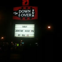 Photo taken at The Down & Over Pub by Cary M. on 12/29/2012