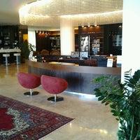 Photo taken at Laguna Palace Hotel by Nicola G. on 12/12/2012
